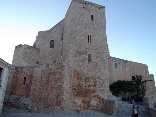 Festung Peniscola - Tempelritterburg und katalanisches Avignon