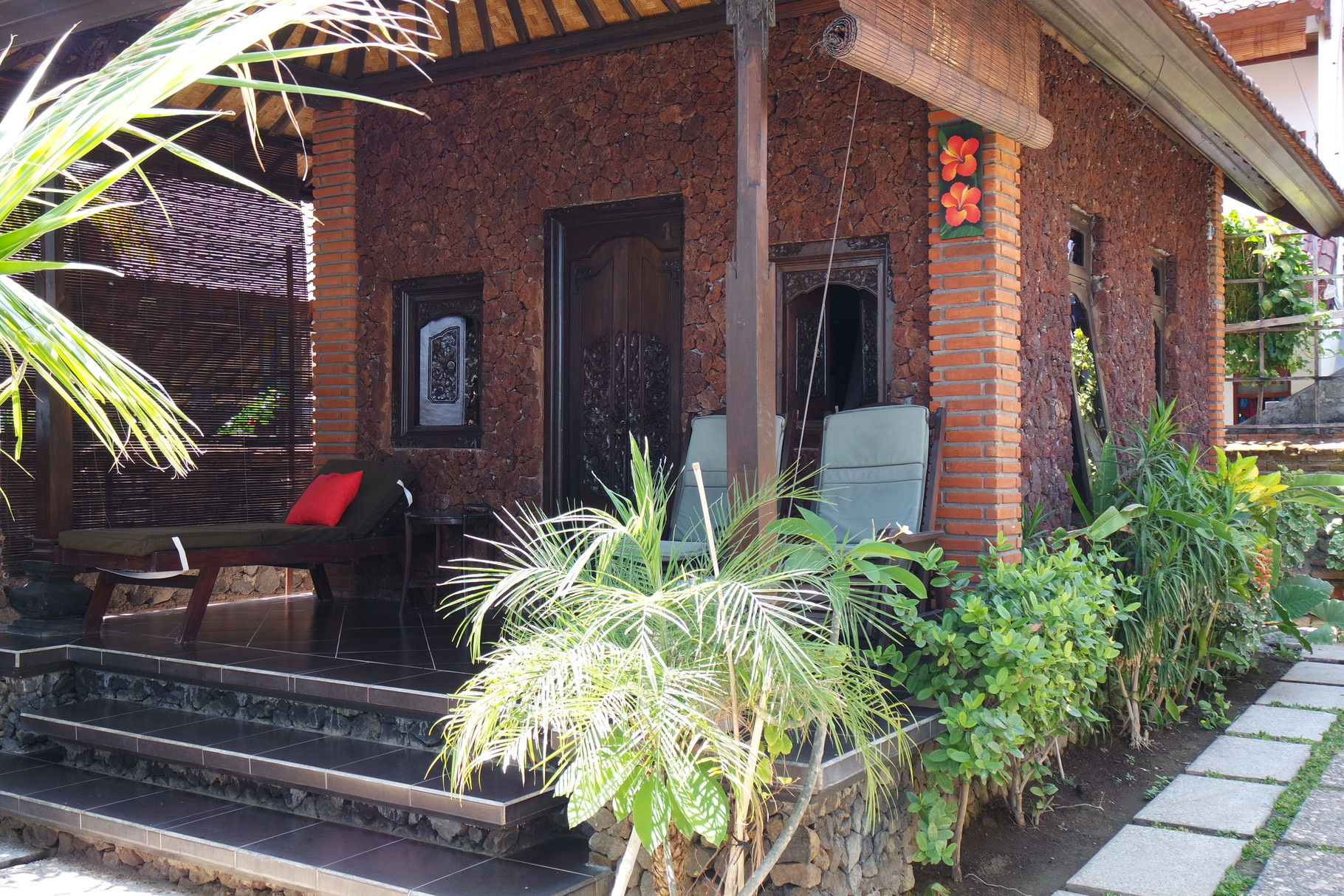 Bulih Beach Bungalows - Room 1