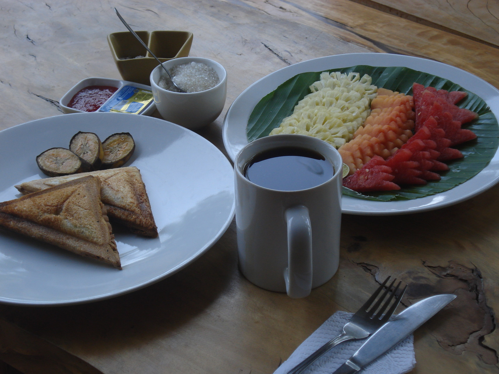 Bulih Beach Bungalows - Breakfast