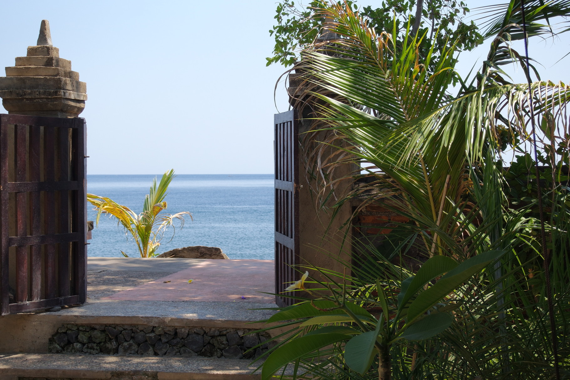 Bulih Beach Bungalows - Gate to the Beach / Room 1 / Sea View