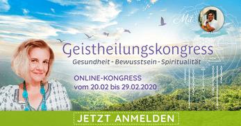 Geistheilungskongress, Ivetha Methfessel, Online Kongress, Gesundheit, Bewusstsein, Spiritualität, Medialität, Aurachirurgie, Geistheiler Jesus Lopez,