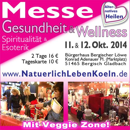 Gesundheit und Wellness Messe in Bergisch Gladbach, Oktober 2014