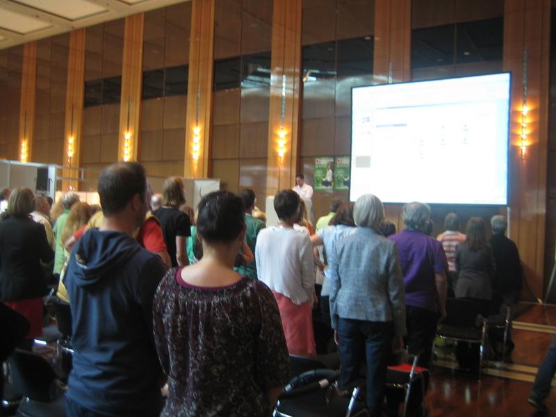 Paracelsusmesse in Düsseldorf, Vortrag Jesus Lopez