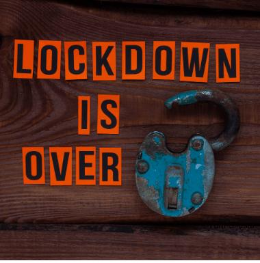 Öffnungen vom Lockdown