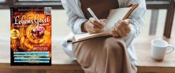 Interview im Magazin LebensGeist mit dem internationalen Geistheiler Jesus Lopez