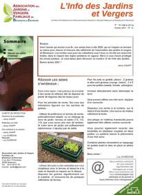 L'info des Jardins et Vergers n°12