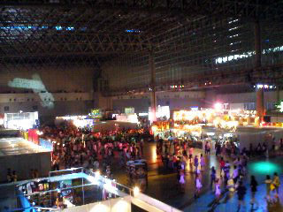 Inside Makuhari Messe