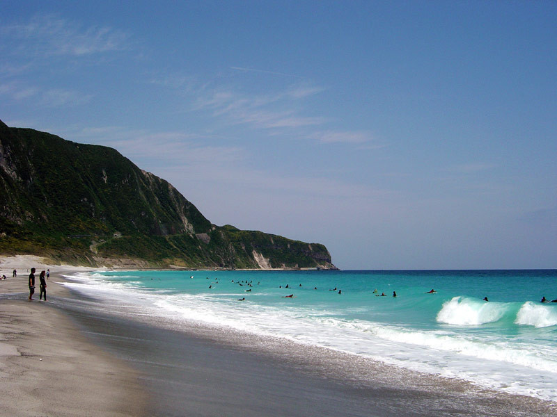 The beach at Niijima