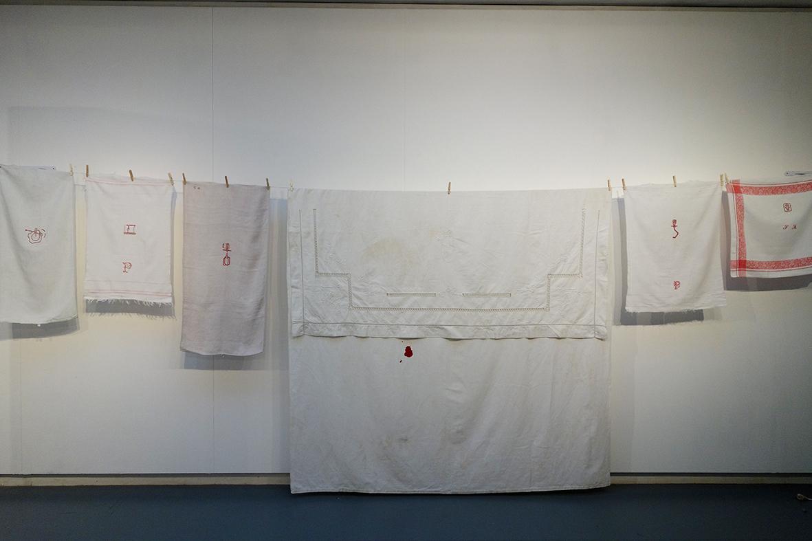 Vue expo Lasécu, 2017. Mon trousseau