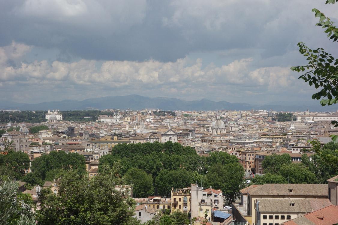 Gianicolo. Et Rome à mes pieds
