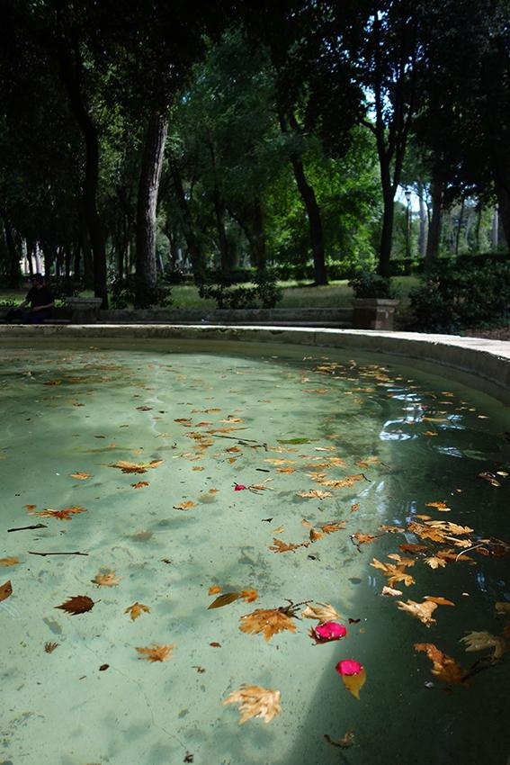 Fontaine villa Borghèse