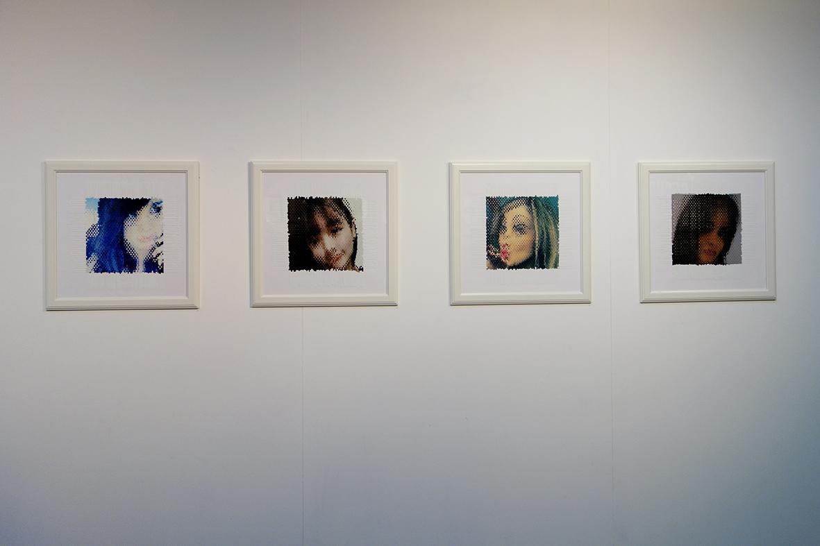 Vue expo Lasécu, 2017. Self service