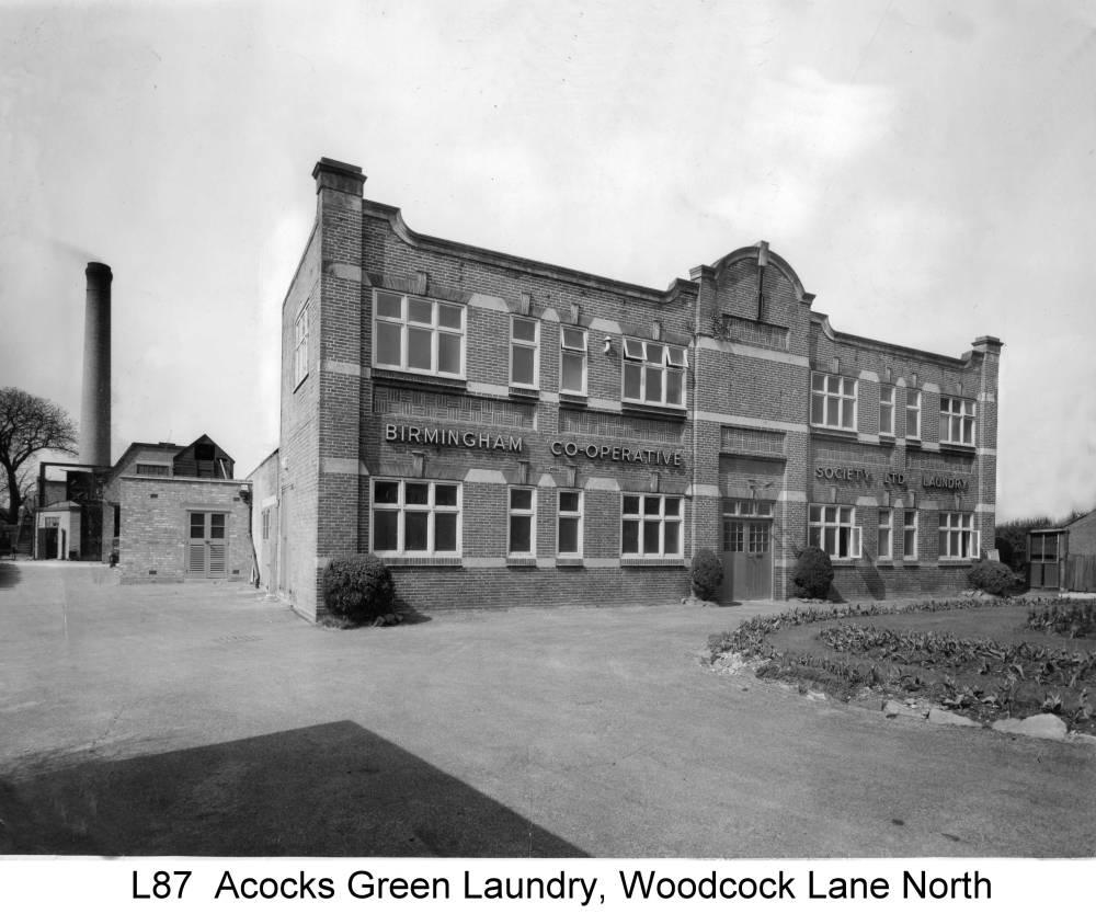 The Co-op laundry at Woodcock Lane North. Copyright Central England Co-operative
