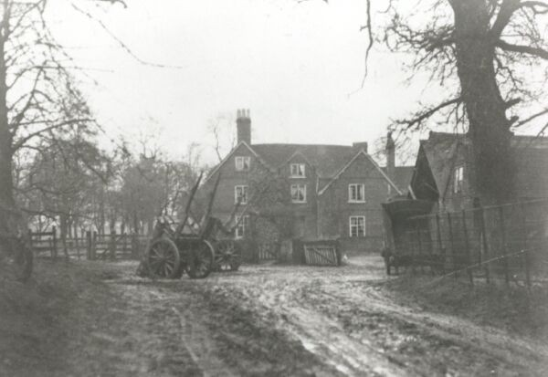 Hyron Hall Farm c. 1925
