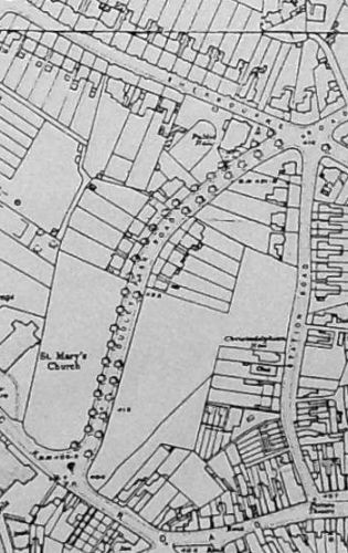 Extract from 1916 O.S. map
