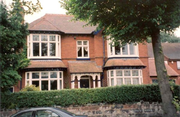 17 Greswolde Park Road, formerly Greswolde House, built c. 1904 for Rowland Douglas Todd of the Birmingham Stopper and Cycle Components Company.