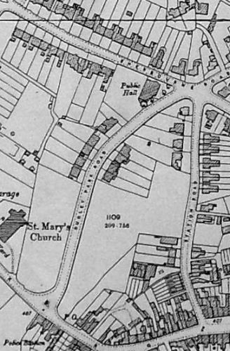 Extract from 1904 O.S. map