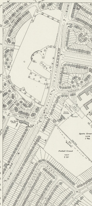 Fox Hollies Road south O.S. 1939 (Birmingham libraries) There is no map for Fox Hollies Road north at this time.