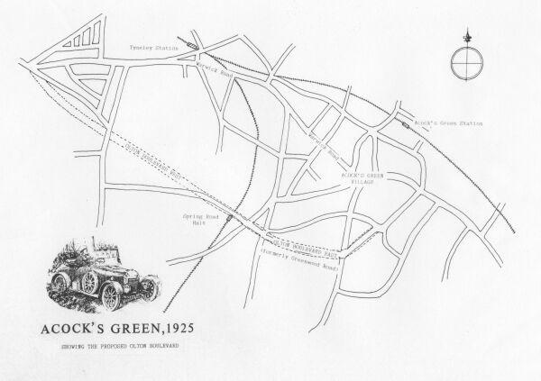 Map, 1925