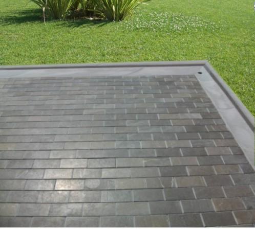 Fin de terraza for Adoquines para jardin