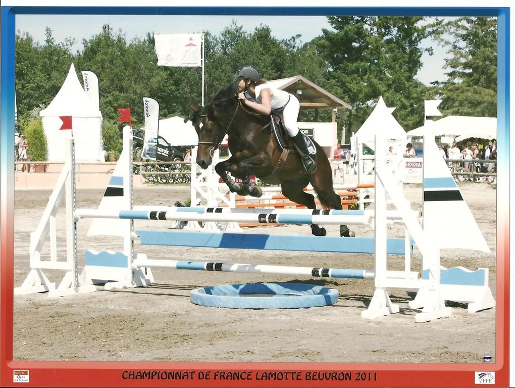 Open de France avec Margaux en 2011