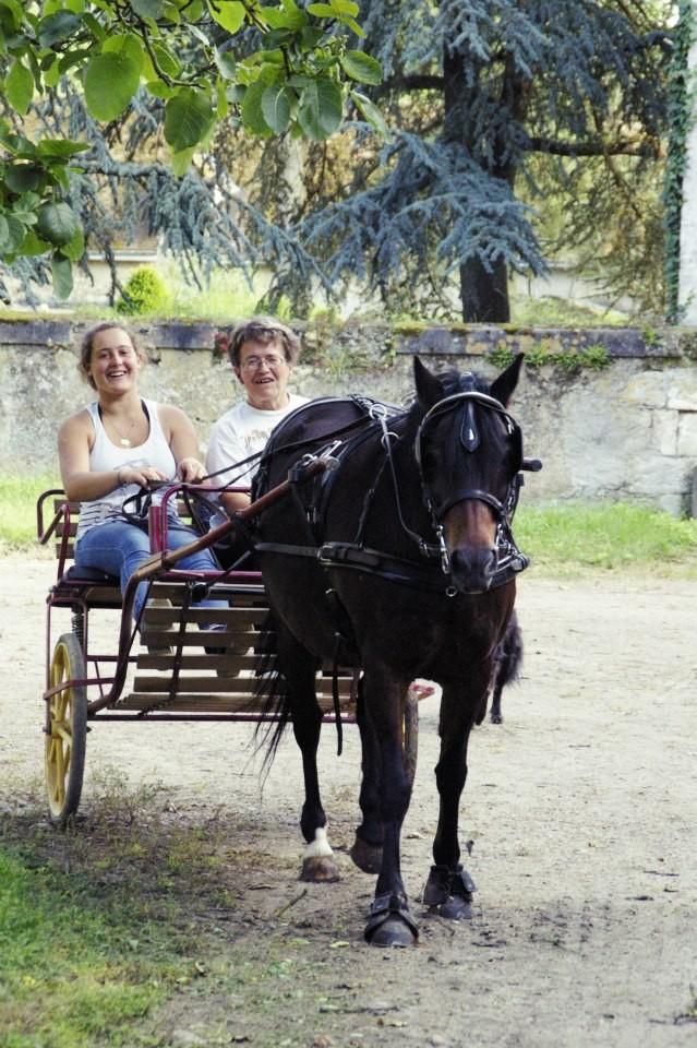 Louise avec Ilodée (et Thérèse)