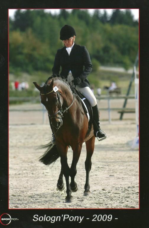 Avec Jukie au Sologn' Pony