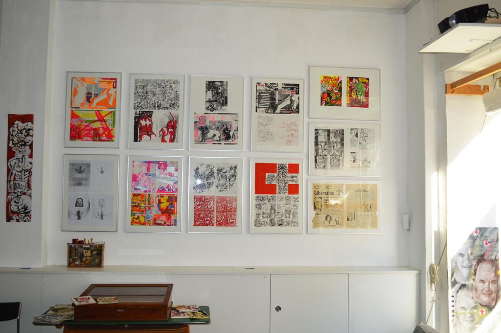 Doppelseiten aus den Ausgaben 1 - 8 (1983 - 1987) / doublepages of issues 1 - 8 (1983 - 1987)