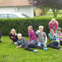 Kindergeburtstag draußen feiern. Agentenschule / Camp Cool. (C) 2014 Bubig & Neumann Kreativ-Verlag GbR