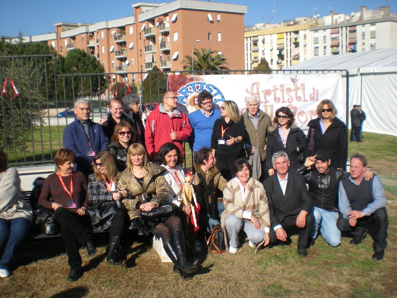 FESTA DEGLI ARTISTI-GENNAIO 2011