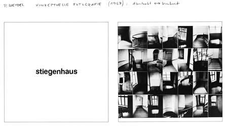 abstrakt-konkret (Stiegenhaus) 1967, 2-teilig je 60x60 cm Unikat
