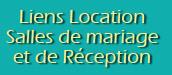 Réservation Salles de mariage proches gîte Chandoiseau