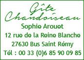 hébergement Gite Chandoiseau, Bus Saint Rémy,  Ecos eure