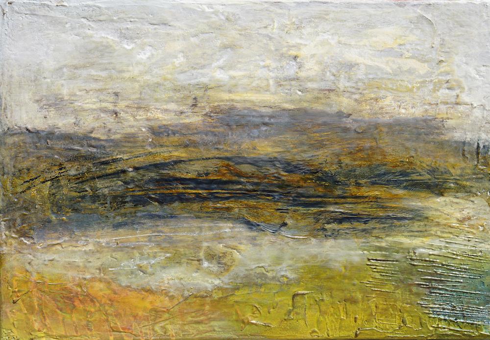Am Ufer | 45 x 65 x 1,9 cm | 2018