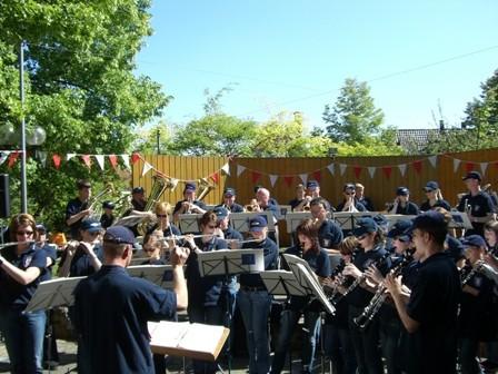 Musikertreffen des Kreisverbandes beim DMF 2007, Platzkonzert in Gerolzhofen