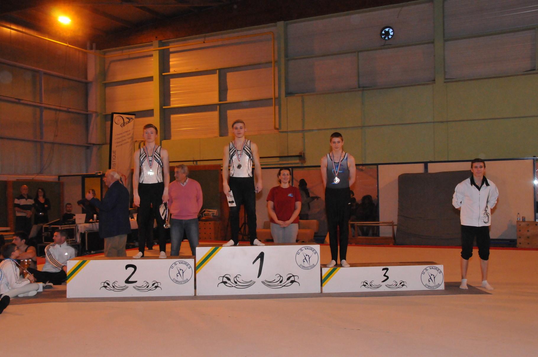 Guillaume 1er et Kellian 2ème - Individuel Trophée Fédérale