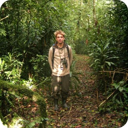 Regenwaldführung: Keine Lust auf Fotos (Kenia 2005)