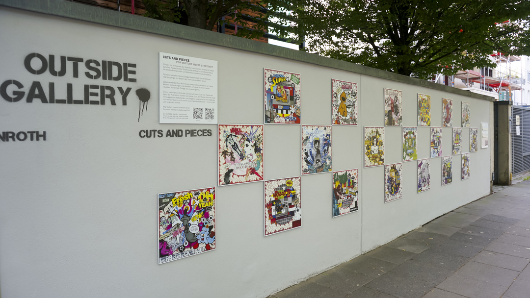 Outside Gallery in Cologne