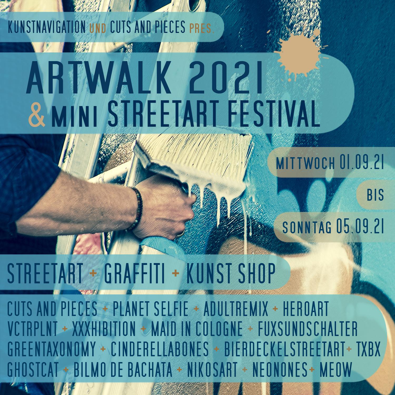 Artwalk 2021 & mini Streetart Festival