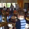Die erste Vororchesterprobe