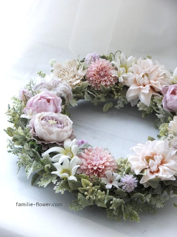 『造花リース新作♪』&『今年の思い』