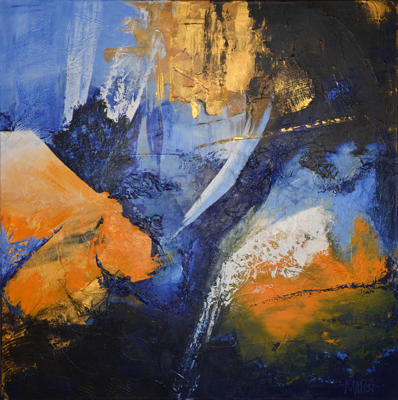 Opening - 100x100 cm - sold