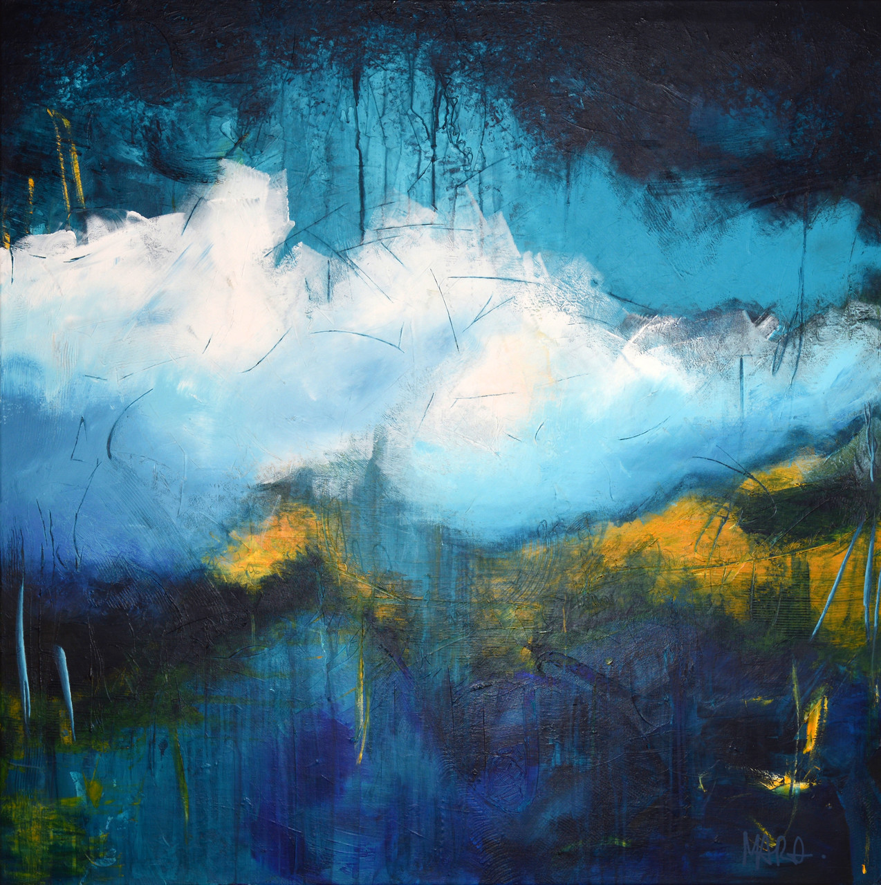 Timelessness - 100x100 cm - sold