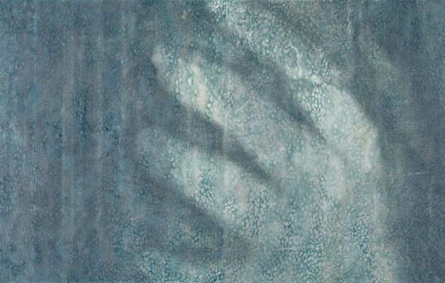 """『カガミナスウツセミ#03』 """"The reflected image in the world #03""""   H1000xW1600mm  2004"""