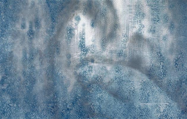 """『ウツセミノゴトク#02』 """"Fragile world #02""""   H1000xW1600mm  2004"""