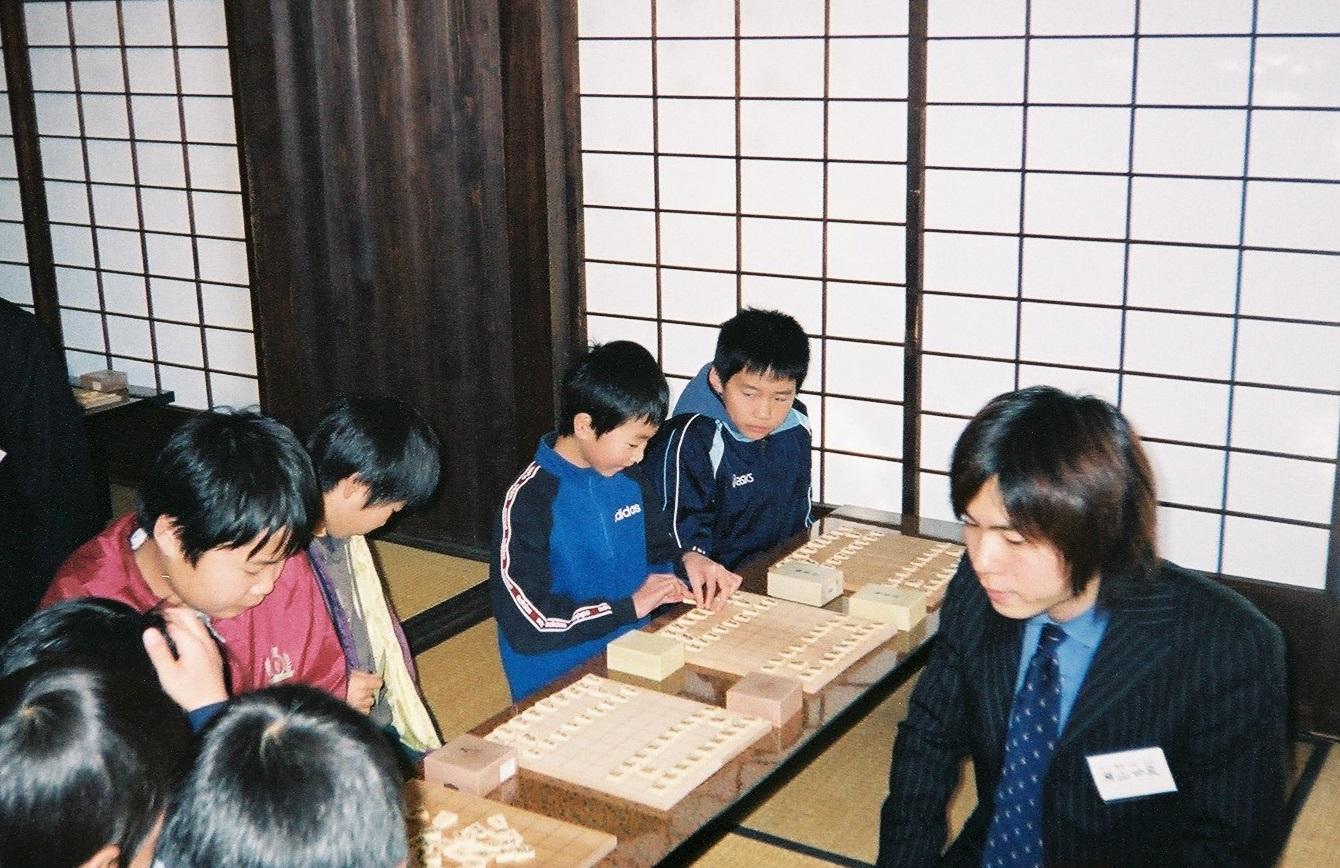 2005年11月 横山先生初参加