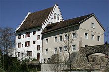 Das Schloss des Fürstabtes