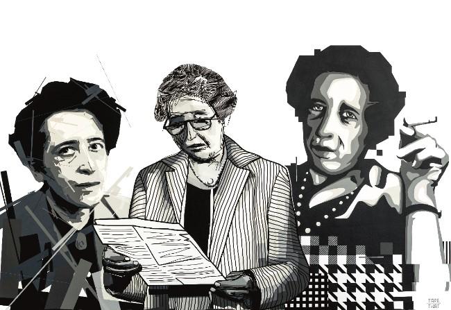 TAPE THAT, Hannah Arendt, Foto: Laurin Schmidt, 2020 ©Kunst- und Ausstellungshalle der Bundesrepublik Deutschland GmbH