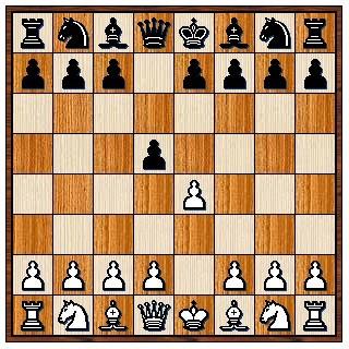 Défense Scandinave 1.e4 d5