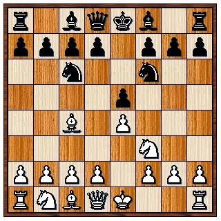 Défense des 2 cavaliers 1.e4 e5 2.Cf3 Cc6 3.Fc4 Cf6